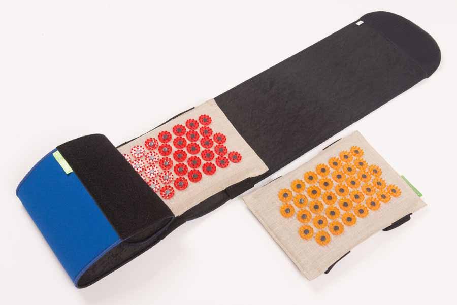 Лаборатория Кузнецова Массажер-иппликатор Тибетский на мягкой подложке, с поясом, с двумя сменными мягкими подушечкамиФР-00000859Массажер-иппликатор Тибетский на мягкой подложке, с поясом