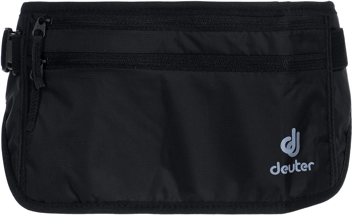 Кошелек Deuter Security Money Belt II, цвет: черныйZ90 blackСумка поясная. Два кармана на молнии, регулирока ремня.