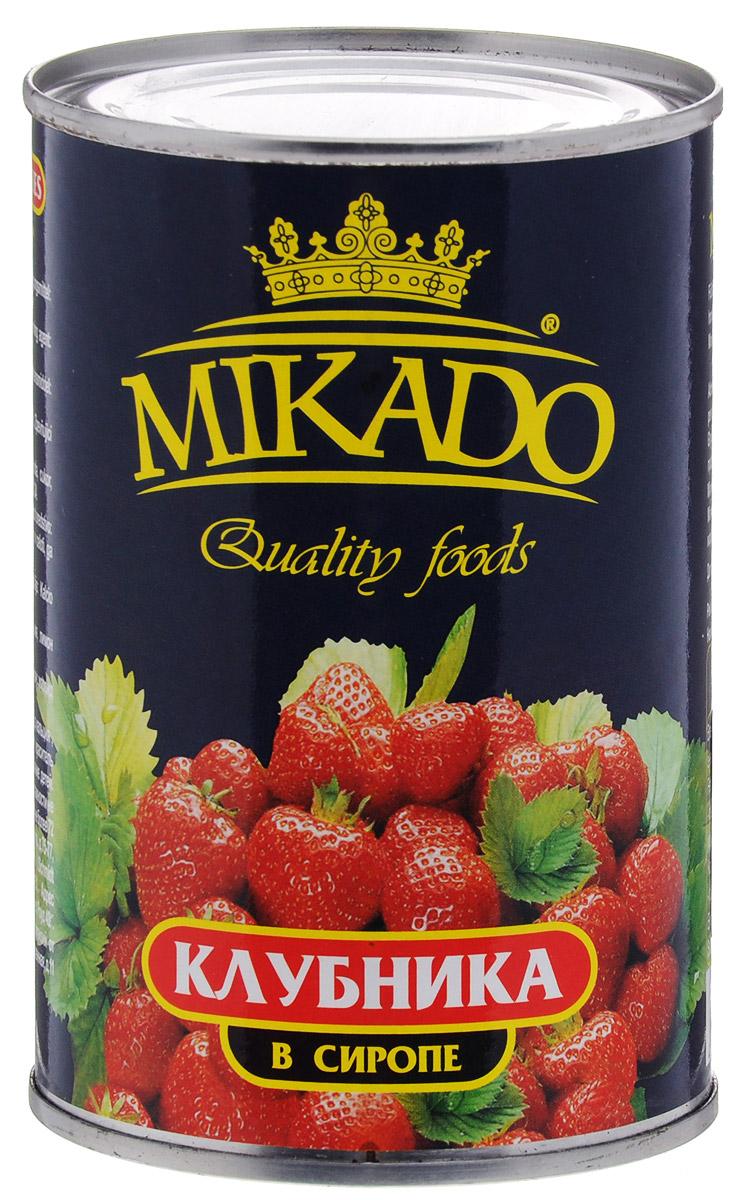 Mikado клубника в сиропе, 425 мл  цена и фото