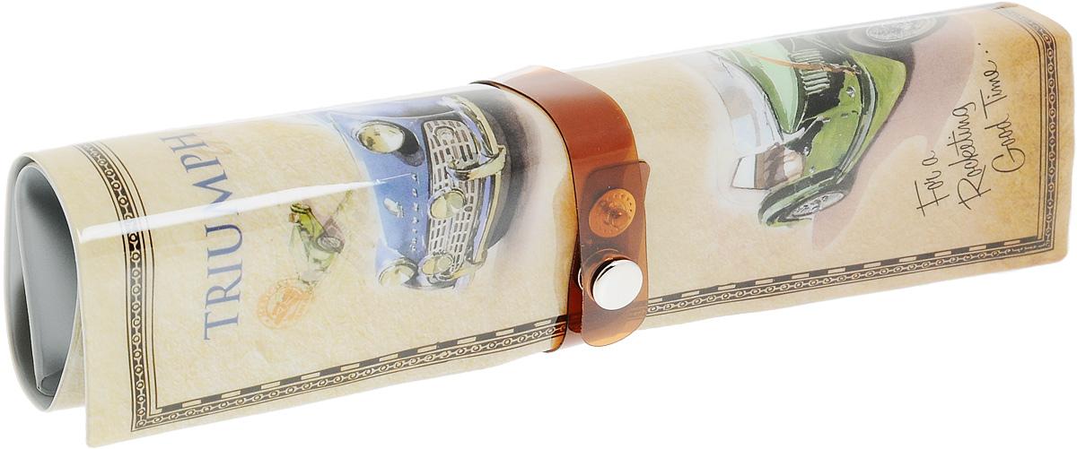Пенал-органайзер для мелочей Феникс-Презент Авто, 25 х 20 смKCTN-DF-2MПенал-органайзер Феникс-Презент Авто выполнен из прочного ПВХ. Изделие предназначено для хранения различных мелочей. Пенал оснащен 5 кармашками и 9 фиксаторами. Закрывается пенал при помощи хлястика на металлическую кнопку.Размер в разложенном виде: 25 х 20 см.Размер в сложенном виде: 20 х 6 см.