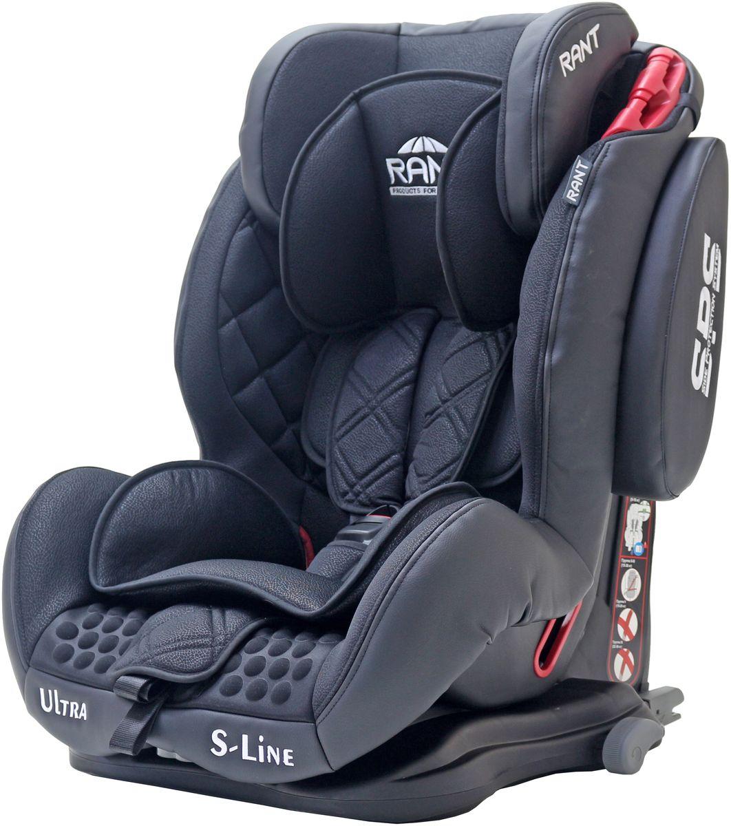 Rant Автокресло Ultra Isofix цвет черный от 9 до 36 кг4650070980588Автокресло Rant Ultra Isofix - универсальное автокресло, предназначенное для детей весом от 9 до 36 кг (приблизительно с 9 месяцев до 12 лет). Это удобная, комфортная модель с хорошим уровнем безопасности.Корпус автокресла выполнен из ударопрочного пластика. Усиленная система боковой защиты SPS обеспечивает дополнительную защиту при боковых ударах. Система крепления автокресла оснащена фиксаторами для штатного ремня, делающими установку автокресла максимально надежной. Подголовник автокресла - объемный, глубокий. Высота регулируется в трех положениях. На подголовнике расположены направляющие для штатного ремня безопасности (используются в весовой категории от 15 кг, когда ребенок удерживается в кресле уже штатным ремнем безопасности, а не внутренними ремнями).Внутренние пятиточечные ремни безопасности с мягкими плечевыми накладками надежно удерживают малыша в автокресле. Ремни интегрированы в подголовник, регулируются по высоте одновременно с поднятием подголовника. Имеют центральную систему натяжения и прочный, практичный замок. Сиденье увеличенной ширины сделает более комфортной поездки уже подросшего ребенка. Угол наклона спинки регулируется в трех положениях. Для самых маленьких пассажиров предусмотрен мягкий съемный вкладыш.Чехол автокресла изготовлен из качественной, высокопрочной, гипоаллергенной ткани. Легко снимается для чистки или стирки.Автокресло устанавливается по направлению движения, с помощью штатного ремня безопасности автомобиля. Ребенок удерживается в кресле внутренними пятиточечными ремнями безопасности (до 18 кг) или штатным ремнем безопасности (от 18 кг), а также системой Isofix.Автокресло имеет усиленную боковую защиту. Корпус из ударопрочного пластика гарантируют защиту при боковых и фронтальных столкновениях. Пятиточечные ремни безопасности с мягкими плечевыми накладками надежно зафиксируют малыша в автокресле. Прочный и практичный замок фиксации ремней безопасности надежно у
