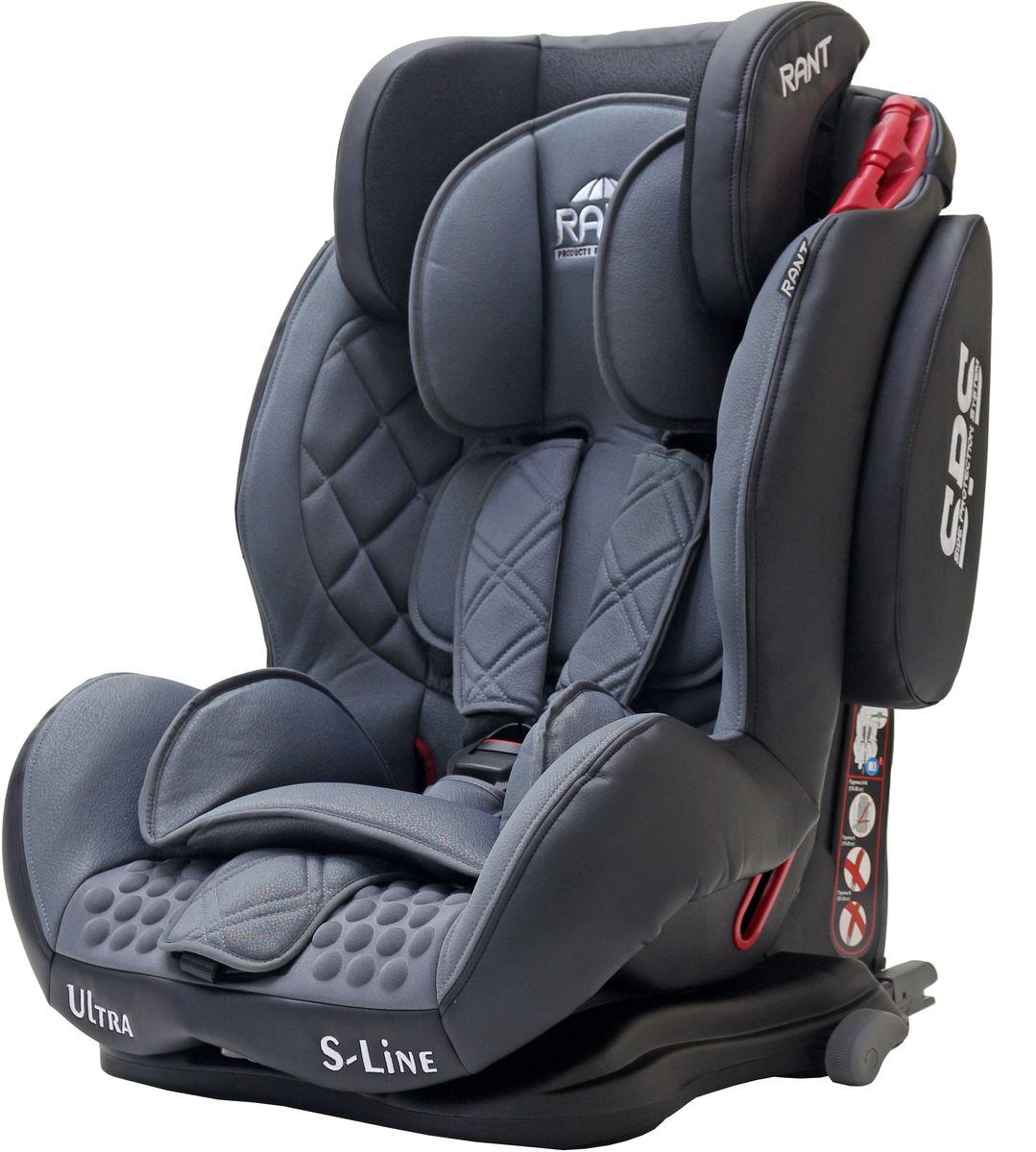 Rant Автокресло Ultra Isofix цвет серый от 9 до 36 кг - Автокресла и аксессуары