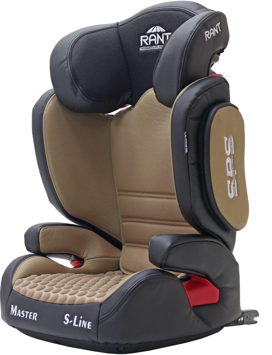 Rant Автокресло Master Isofix цвет кофейный от 15 до 36 кг автокресло rant junior beige
