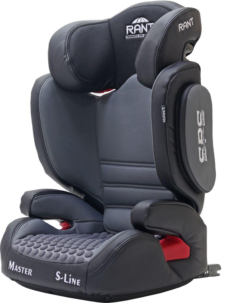 Rant Автокресло Master Isofix цвет серый от 15 до 36 кг - Автокресла и аксессуары