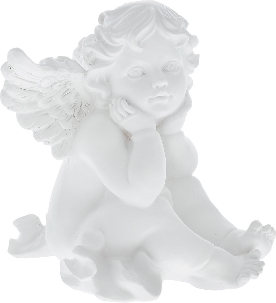 Фигурка декоративная Феникс-Презент Грезы ангела, высота 19,5 смБрелок для ключейФигурка декоративная Феникс-Презент Грезы ангела, выполненная из полирезина, станет оригинальным подарком для всех любителей необычных вещей. Изделие имеет приятный дизайн. Изысканный сувенир станет прекрасным дополнением к интерьеру. Вы можете поставить фигурку в любом месте, где она будет удачно смотреться и радовать глаз.