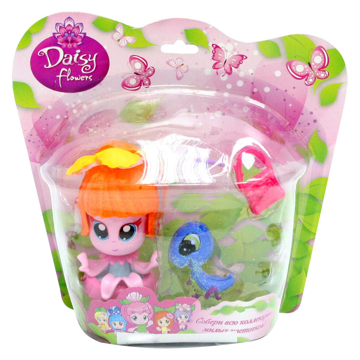 Daisy Мини-кукла Цветочек цвет оранжевый розовый