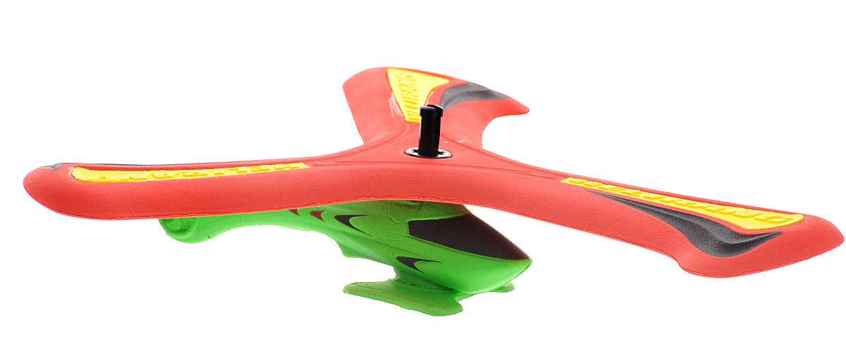 Helirang Бумеранг Zing Air с вертолетом цвет красный зеленый