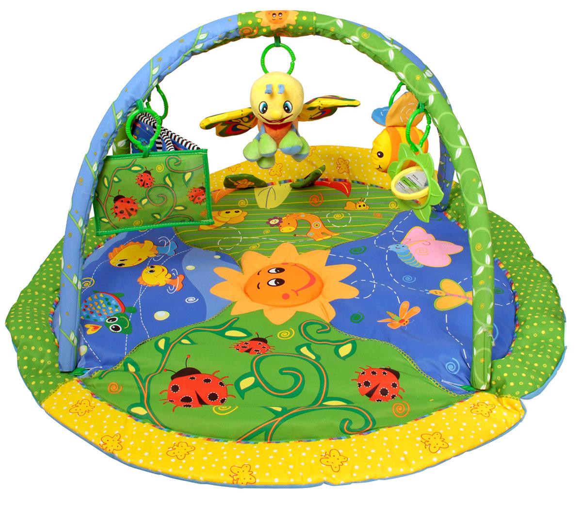 Ути-Пути Развивающий коврик Цветущий сад