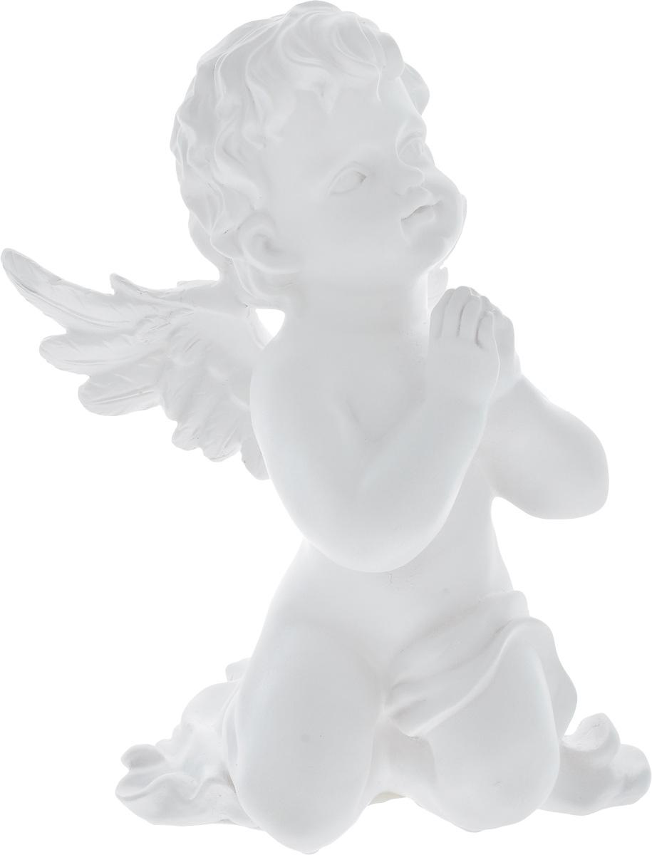 Фигурка декоративная Феникс-Презент Небесный ангел, высота 26,5 см41619Фигурка декоративная Феникс-Презент Небесный ангел, выполненная из полирезина, станет оригинальным подарком для всех любителей необычных вещей. Изделие имеет приятный дизайн. Изысканный сувенир станет прекрасным дополнением к интерьеру. Вы можете поставить фигурку в любом месте, где она будет удачно смотреться и радовать глаз.