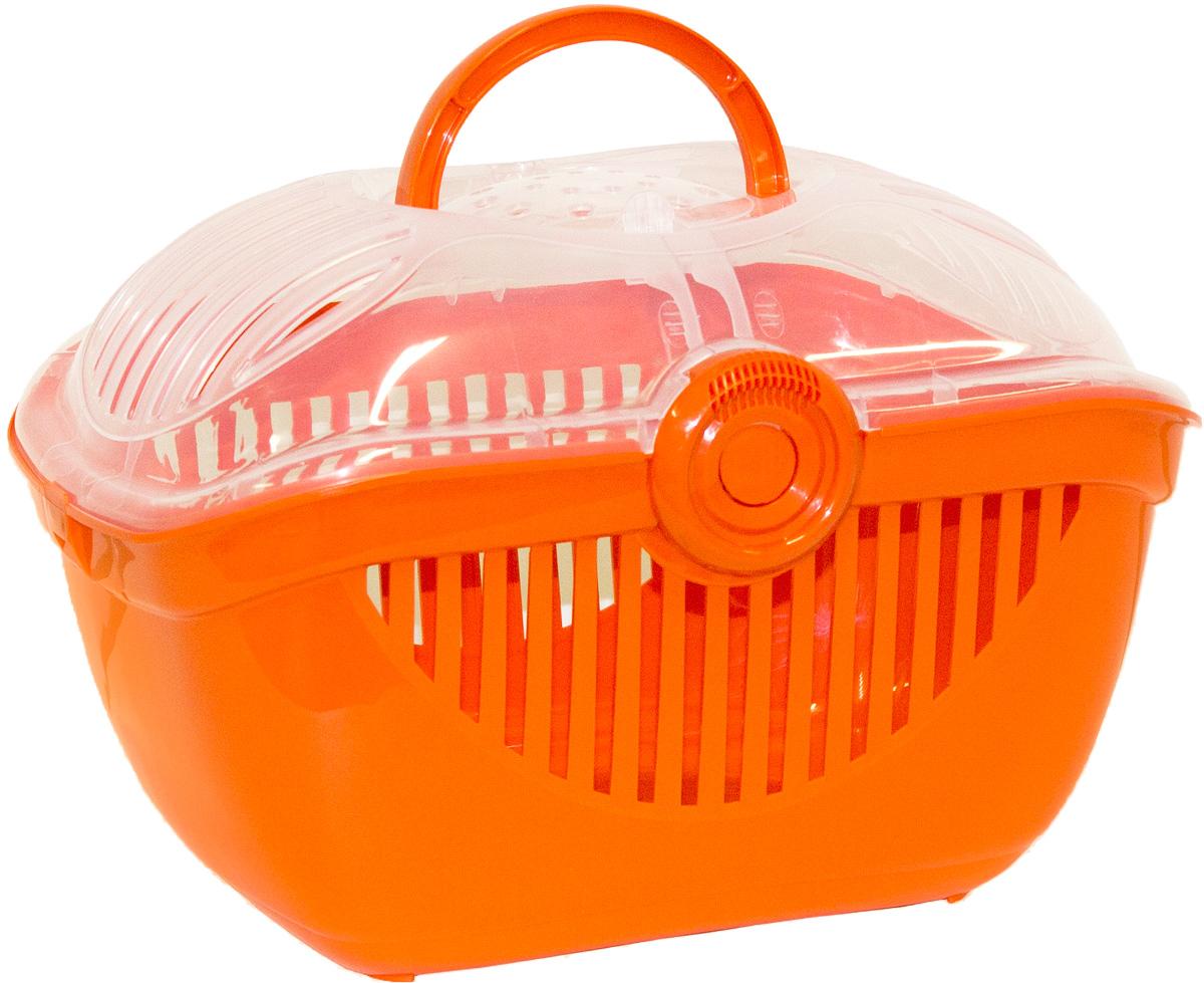 Переноска для кошек Moderna Top Runner, цвет: оранжевый, 36 х 48 х 32 см14T800148Переноска для кошек Moderna Top Runner выполнена из высококачественного пластика и имеет приятный внешний вид. Она достаточно вместительна и оснащена вентиляционными отверстиями в боковых частях, благодаря чему животное может дышать. Сверху расположена пластиковая прозрачная крышка на которой имеется ручка для удобной транспортировки.Размер: 36 х 48 х 32 см.