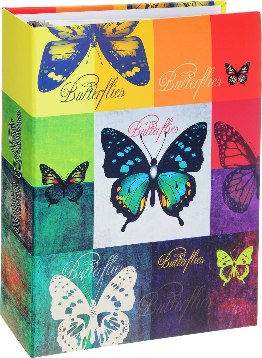 Фотоальбом Феникс-Презент Радужные бабочки, на кольцах, 50 магнитных листов12723Фотоальбом Феникс-Презент Радужные бабочки сохранит моменты ваших счастливых мгновений на своих страницах. Обложка альбома выполнена из картона и оформлена красочным изображением бабочек. Листы, изготовленные из картона с клеевым покрытием и пленки ПВХ, размещены на металлических разъемных кольцах. Альбом с магнитными листами удобен тем, что он позволяет размещать фотографии разных размеров. Для того чтобы поместить фотографии на магнитной странице, надо отлепить ПВХ пленку по направлению от корешка альбома к внешней стороне страницы и разложить фотографии поверх клейковатого покрытия так, как вам нравится. После размещения фотографий надо их закрыть пленкой так, чтобы не было пузырьков воздуха, складок и заломов.Магнитные страницы обладают следующими преимуществами: - Не нужно прикладывать усилия для закрепления фотографий, - Не нужно заботиться о размерах фотографий, так как вы можете вставить в альбом фотографии разных размеров, - Защита фотографий от постоянных прикосновений зрителей с помощью пленки ПВХ.Нам всегда так приятно вспоминать о самых счастливых моментах жизни, запечатленных на фотографиях. Поэтому фотоальбом является универсальным подарком к любому празднику. Вашим родным, близким и просто знакомым будет приятно помещать фотографии в этот альбом.Количество листов: 50 шт. Размер листа: 19 х 27 см.