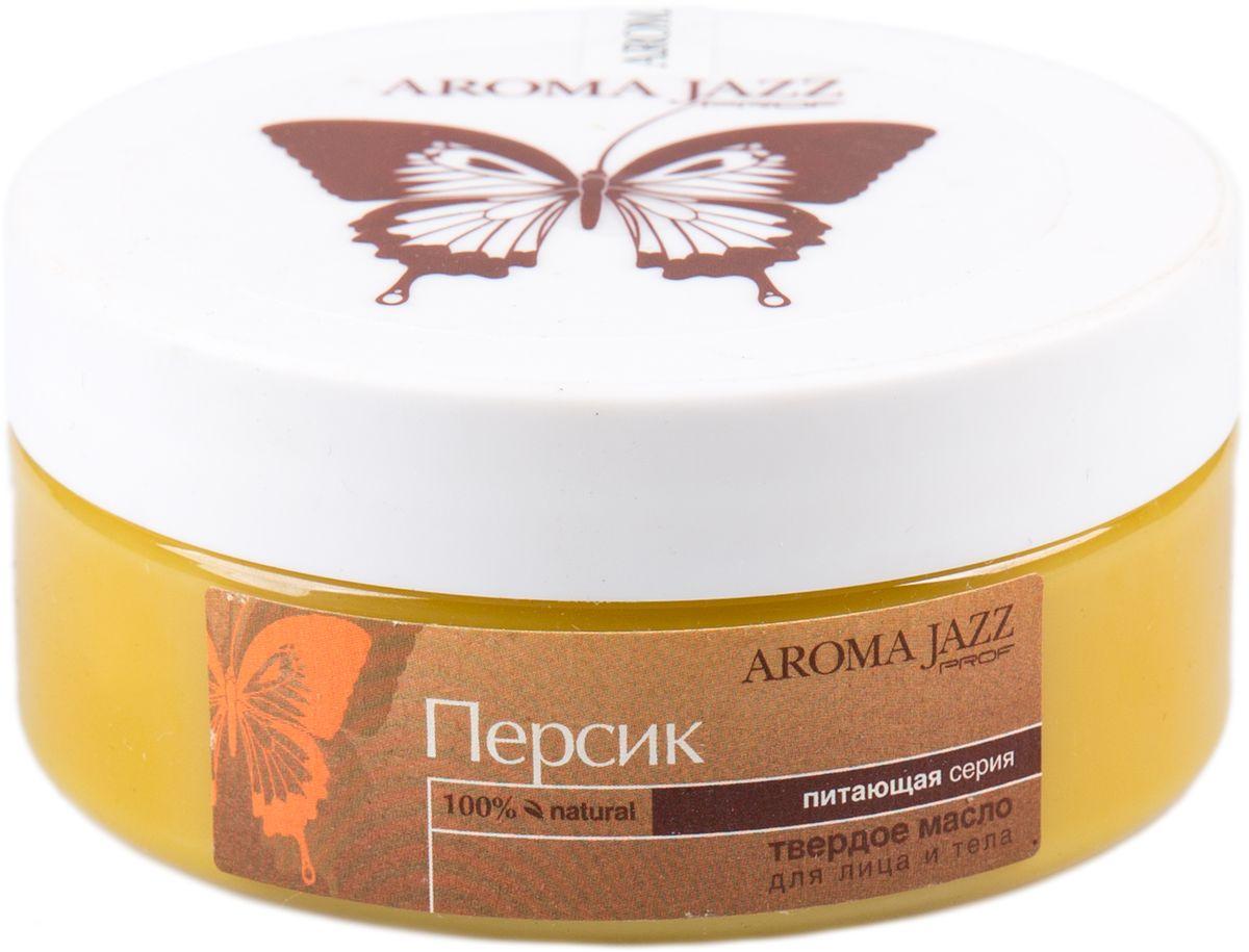 Aroma Jazz Твердое масло Персик, 150 мл aroma jazz твердое масло апельсиновый джаз 150 мл