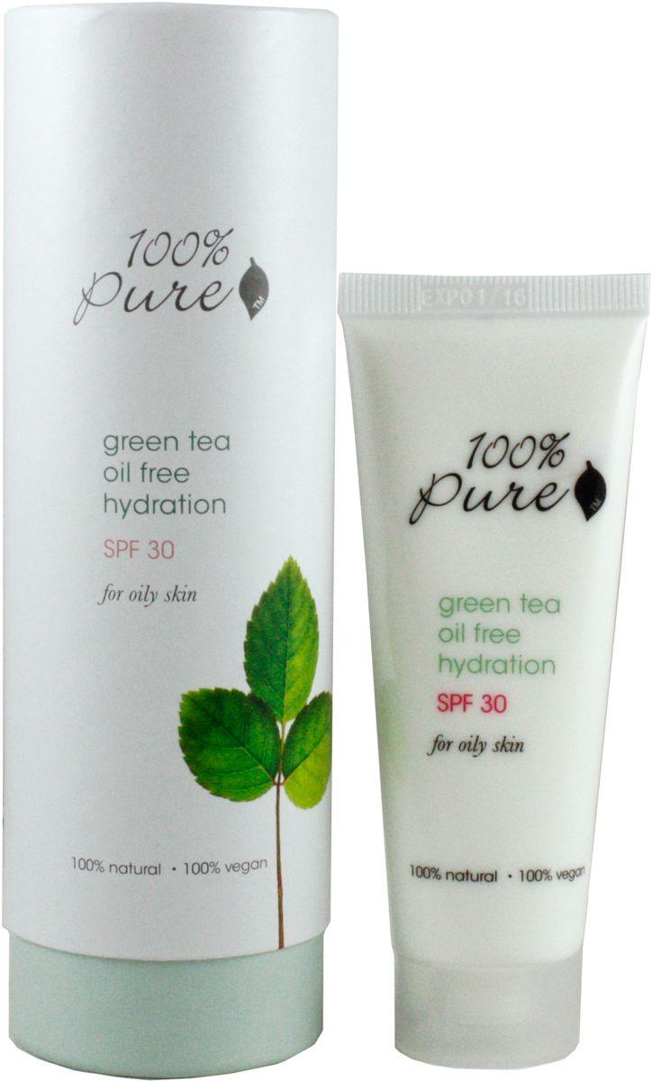 100% Pure Зеленый чай увлажняющий лосьон, 50 млFS-00897ОБезжиренный, увлажняющий крем с SPF 30 защищает вашу кожу от солнечных UVA и UVB лучей. Помогает предупредить возможный риск развития рака кожи, морщин и пигментных пятен. Органический зеленый чай смягчает и успокаивает кожу в то время как травы сохраняют цвет и молодость кожи лица.