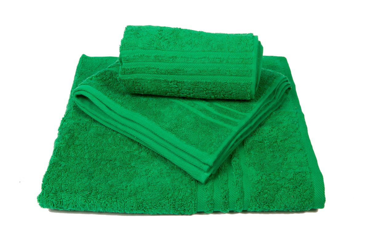 Набор махровых полотенец Arloni Marvel, цвет: зеленый, 3 шт68/5/3Набор Arloni Marvel состоит из трех полотенец разных размеров. Полотенца, выполненные из натурального хлопка, подарят вам мягкость и необыкновенный комфорт в использовании. Ткань не вызывает аллергических реакций, обладает высокой гигроскопичностью и воздухопроницаемостью. Полотенца великолепно впитывают влагу, нежные на ощупь не теряют своих свойств после многократной стирки.