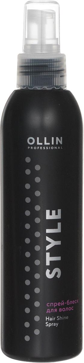 Ollin Спрей-блеск для волос Professional Style Hair Shine Spray 200 мл725751Придает блеск волосам на завершающем этапе укладки. Не утяжеляет.