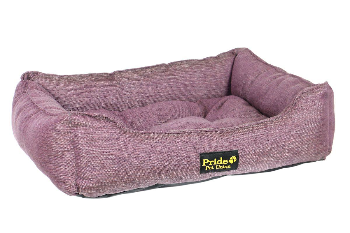 Лежак для животных Pride Прованс, цвет: фиолетовый, 70 х 60 х 23 см12171996Лежак Pride Прованс непременно станет любимым местомотдыха вашего домашнего животного. Изделие выполнено изполиэстера, а наполнитель - из холлофайбера. Такой материалне теряет своей формы долгое время.Внутри имеется мягкая съемная подстилка.На таком лежаке вашему любимцу будет мягко и тепло. Онподарит вашему питомцу ощущение уюта и уединенности.
