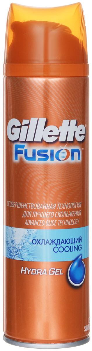 Gillette Гель для бритья Fusion ProGlide, охлаждающий, 200 млGE0701Охлаждающий гель для бритья Gillette Fusion ProGlide содержит ментол. Помогает устранить признаки и ощущения раздражения после бритья.Товар сертифицирован.