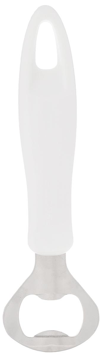 Открывалка для бутылок Tescoma Presto, длина 16 см16184Открывалка для бутылок Tescoma Presto замечательна для удобного открывания бутылок с кронен-пробкой. Изготовлена из первоклассной нержавеющей стали и прочной пластмассы. Ручка приспособлена для подвешивания на вешалку. Открывалка для бутылок Tescoma Prestoстанет прекрасным дополнением к кухонной утвари.Можно мыть в посудомоечной машине.Длина открывалки: 16 см.