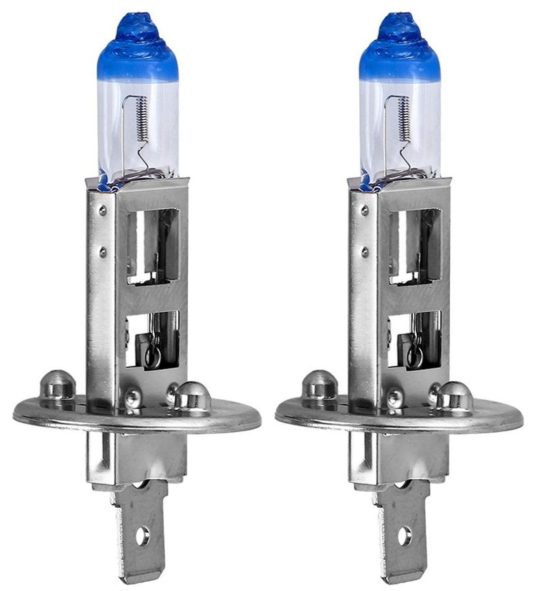 Лампа автомобильная галогенная Philips X-tremeVision, для фар, цоколь H1 (P14.5s), 12V, 55W, 2 шт10503Галогенная лампа для автомобильных фар Philips X-tremeVision изготовлена из запатентованного кварцевого стекла с УФ-фильтром Philips Quartz Glass. Кварцевое стекло в отличие от обычного стекла выдерживает гораздо большее давление и больший перепад температур. При попадании влаги на работающую лампу, лампа не взрывается и продолжает работать. Автомобильные лампы Philips X-tremeVision обладают повышенной яркостью, обеспечивая на 130% больше света на дороге. Такие лампы позволяют увеличить видимость перед автомобилем на 45 метров, благодаря чему вы можете видеть дальше, реагировать быстрее и водить безопаснее.Яркий белый свет (3700K) на 20% белее света стандартных ламп головного освещения. Запатентованная технология Philips Gradient Coating обеспечивает более мощный световой поток, максимальную яркость и невероятный комфорт в темное время суток. Лампы Philips X-tremeVision созданы для долгой и надежной службы. Они гарантируют хороший обзор и видимость на дороге в течение длительного времени.