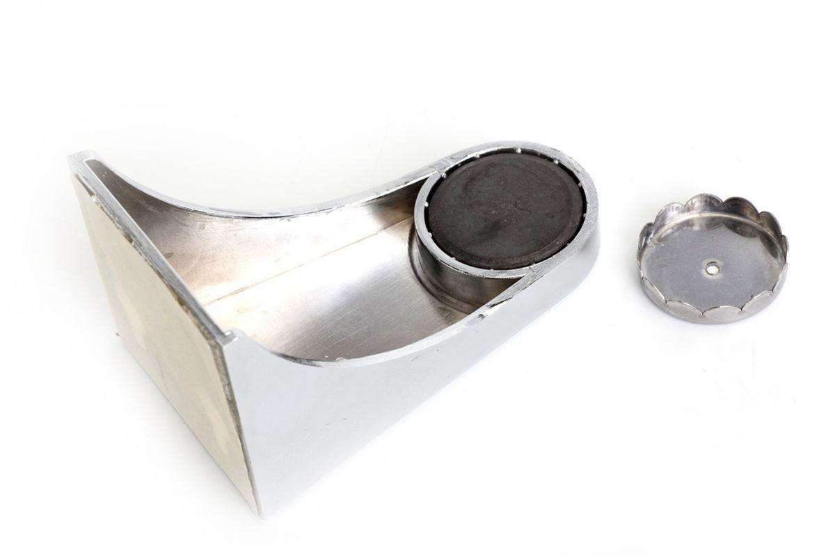 Мыльница магнитная Bradex Гигиена74-0140Надоело мыть руки размокшим мылом, которое вечно разваливается на куски? Раздражает закисшая вода в мыльнице и постоянные подтеки на раковине? Решите эту проблему раз и навсегда, установив магнитную мыльницу Bradex Гигиена! Оригинальное и функциональное приспособление имеет массу достоинств.Оно обеспечивает максимальную гигиеничность: никакой закисшей воды, грибка и плесени.Мыло сохнет в 4 раза быстрее, чем в обычной мыльнице, а значит, не размякает и не разваливается.Мыльница легко устанавливается, удобна в уходе и отлично вписывается в современный дизайн ванной комнаты.
