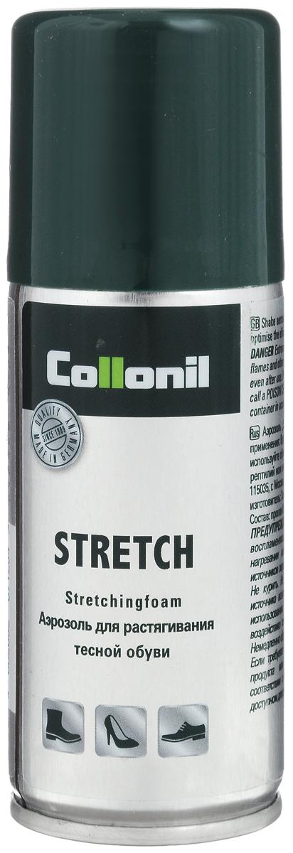 Спрей-растяжка для обуви Collonil Stretch, 100 мл1592 398Спрей Collonil Stretch предназначен для растяжки тесной обуви из всех видов кожи. Не образует пятен и контуров.
