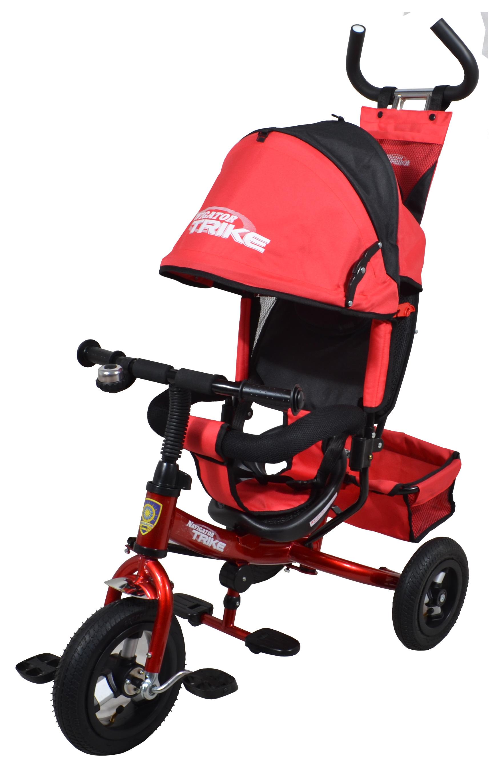 Navigator Трехколесный велосипед Lexus красный черный велосипед для малыша navigator lexus т55929 bordo