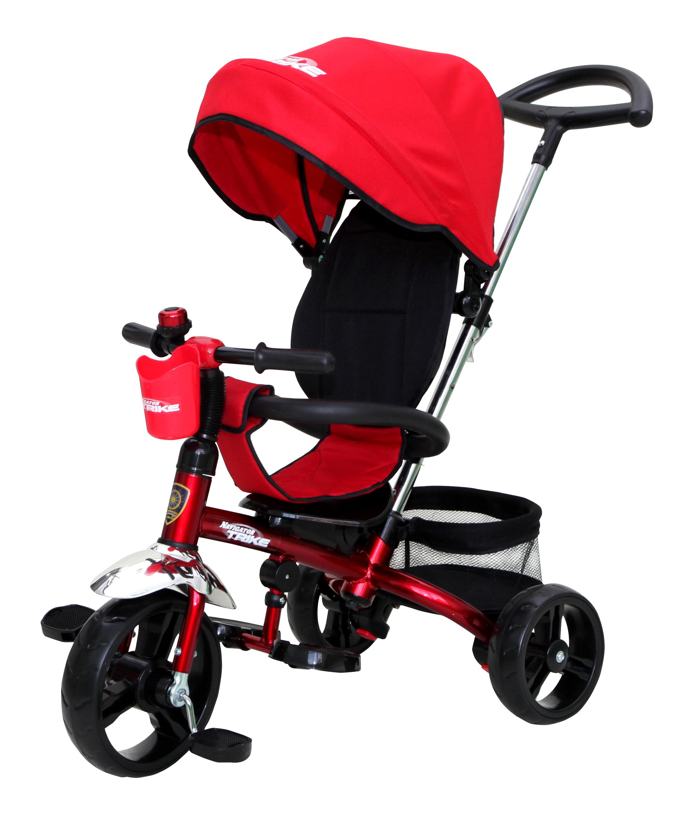 Navigator Трехколесный велосипед Lexus цвет черный красный велосипед для малыша navigator lexus т55929 bordo