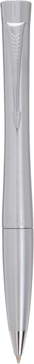 Шариковая ручка Parker Urban.Цвет: Metro MetallicPR-S0767120Шариковая ручка Parker Urban.Цвет: Metro Metallic Материал: Корпус из латуни с хромированными деталями дизайна.; цвет: металлик