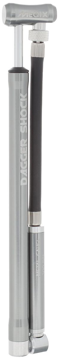 Насос высокого давления MEQIX Dagger Shock LZ90 blackНасос высокого давления MEQIX Dagger Shock L станет незаменимым аксессуаром для любителей велоспорта. Он поможет с легкостью накачать большинство видов воздушных вилок и задних амортизаторов, не прилагая особых усилий. Благодаря компактным размерам и высококачественным материалам корпуса, он станет надежным помощником. Подходит только для клапанов Schrader. Максимальное давление: 20 бар (300 PSI).Длина (в сложенном виде): 23 см.