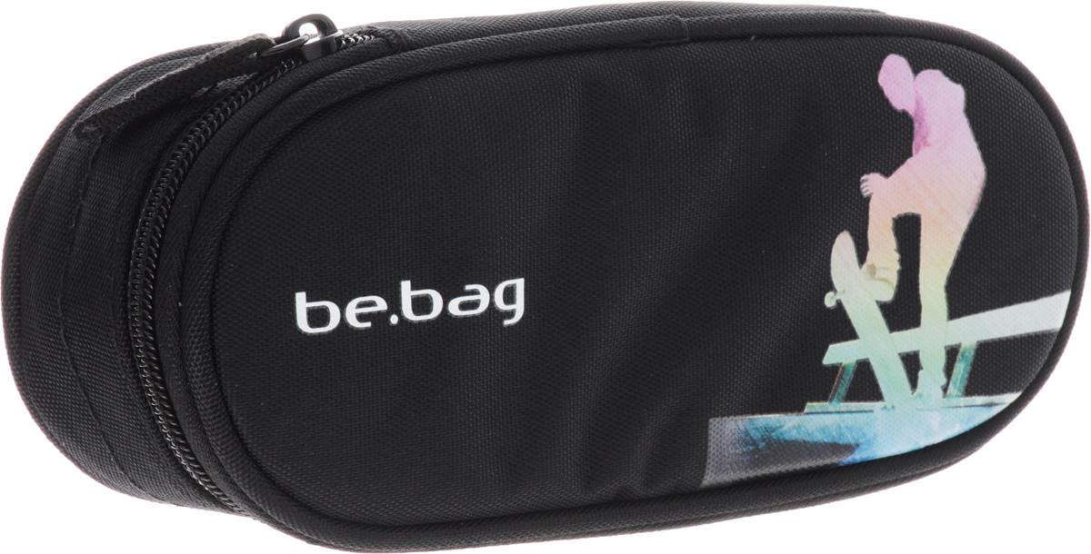 Herlitz Пенал-косметичка Be.Bag Airgo Halfpipe72523WDПенал-косметичка be.bag Airgo Halfpipe. Пенал изготовлен из износостойкого, надежного материала, который не утратит свою форму и верно прослужит весь учебный год. Закрываются изделия они на молнию.