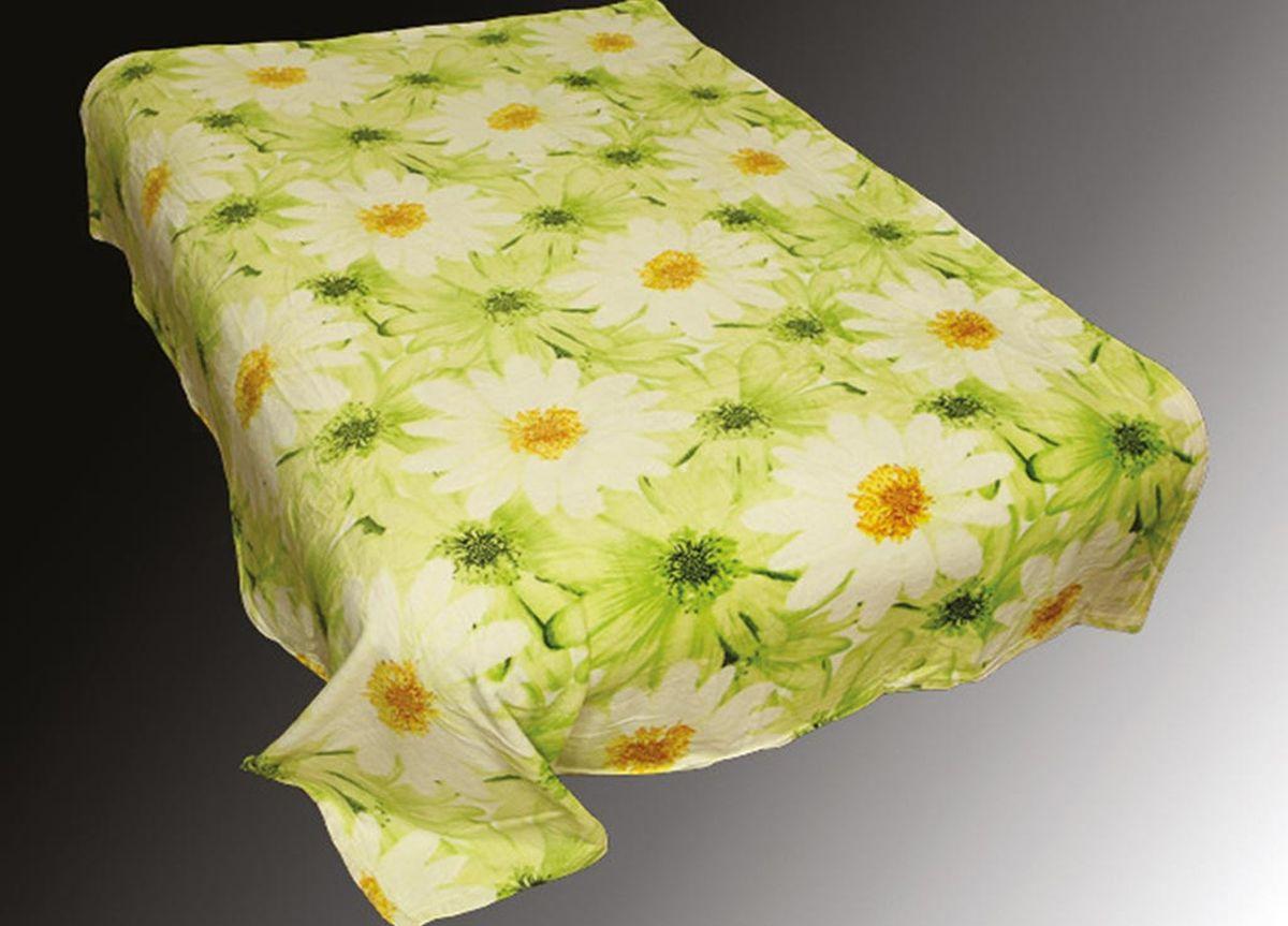 Плед ТД Текстиль Absolute, печатный, 180 х 230 см, цвет: белый, черныйCLP446плотность 230 гр/м2