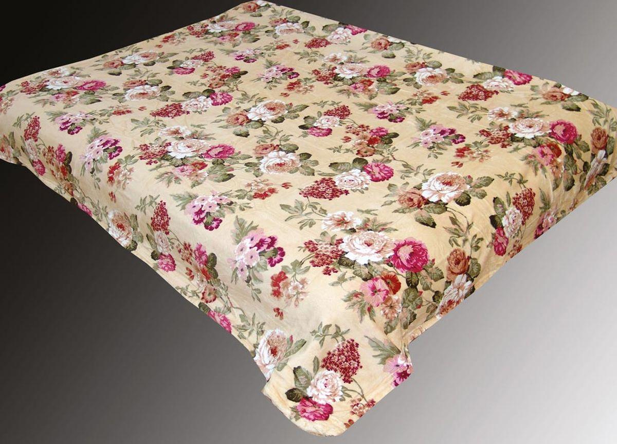 Плед ТД Текстиль Absolute, печатный, 180 х 230 см, цвет: голубойES-412плотность 290 гр/м2