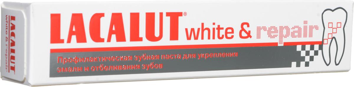 Lacalut Зубная паста White & Repair, 50 млMP59.4DЗубная паста Lacalut White & Repair для эффективного отбеливания зубов и безопасного восстановления эмали.Гидроксиапатит встраивается в поверхностные слои эмали, обеспечивая быструю репарацию и реминерализацию. Восстанавливает природную белизну зубов. Снижает повышенную чувствительность. Характеристики:Объем: 50 мл. Артикул: 666043. Производитель: Германия. Товар сертифицирован.