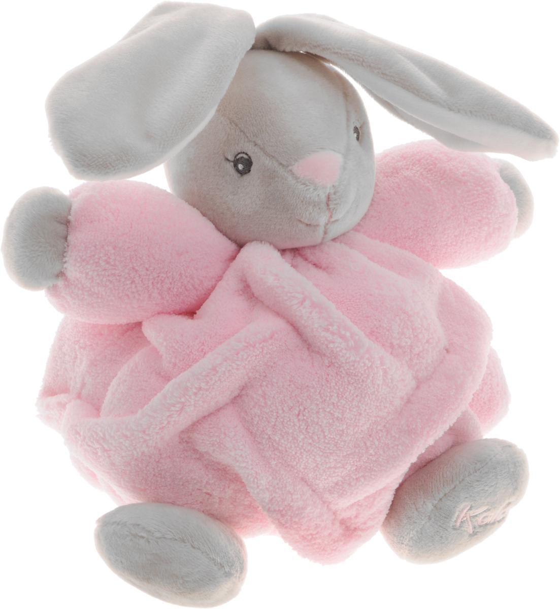 Kaloo Мягкая музыкальная игрушка Заяц цвет розовый серый 17 см мягкие игрушки kaloo овечка 45 см коллекция друзья