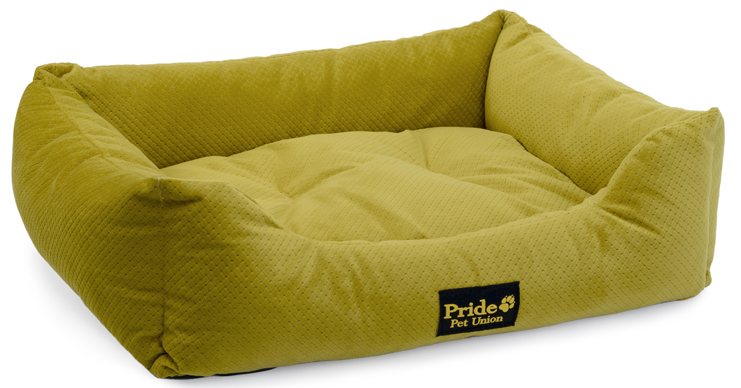 Лежак для животных Pride Престиж, цвет: зеленый, 56 х 48 х 16 см10012201Лежак для животных Pride Престиж прекрасно подойдет для отдыха вашего домашнего питомца. Предназначен для собак средних и мелких пород. Изделие выполнено из прочной ткани. Снабжено невысокими широкими бортиками и съемной мягкой подушкой. Комфортный и уютный лежак обязательно понравится вашему питомцу, животное сможет там отдохнуть и выспаться. Размер лежака: 56 х 48 х 16 см.Наполнитель: 100% полиэфирные волокна.Ткань: велюр.