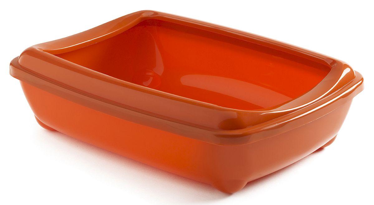 Туалет для кошек Moderna Arist-O-Tray, открытый, цвет: оранжевый, 31 х 42 х 13 см14C132148Туалет для кошек Moderna Arist-O-Tray изготовлен из высококачественного пластика. Высокий борт, прикрепленный по периметру лотка, удобно надевается и предотвращает разбрасывание наполнителя. Такой туалет не впитывает неприятные запахи и прекрасно отмывается.