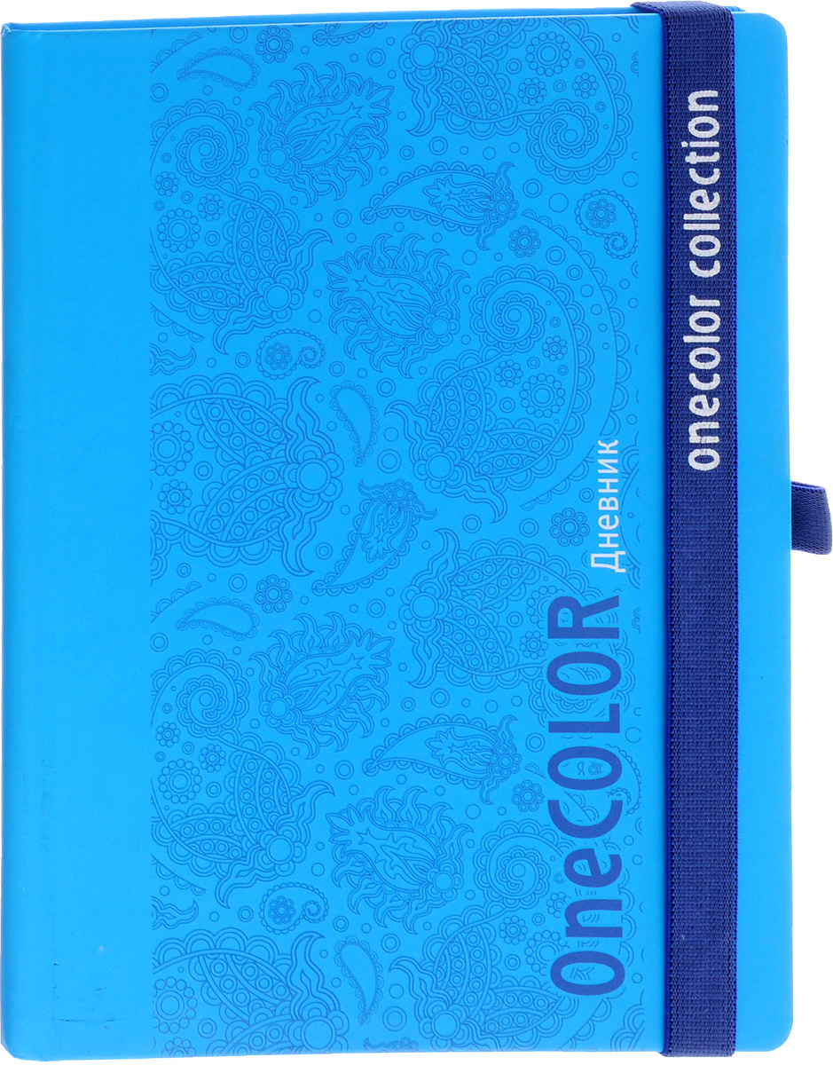 Апплика Дневник школьный One Color цвет голубой72523WDШкольный дневник Апплика One Color в твердой обложке на резинке понравится любому школьнику. Дневник имеет сшитый внутренний блок, состоящий из 48 листов белой бумаги с линовкой черного цвета. Первая страница дневника представляет собой анкету для личных данных владельца, также на ней находятся телефоны экстренной помощи. На следующих страницах находятся гимн Российской Федерации, список преподавателей, расписание внеклассных и внешкольных занятий, расписание уроков по четвертям, расписание факультативных занятий, заметки классного руководителя и учителей. На последних страницах дневника имеются сведения о заданиях на каникулы, список литературы для чтения, сведения об успеваемости и поведении ребенка за учебный год, список одноклассников и справочный материал по различным предметам. В конце дневника имеется картонный конверт.Дневник - это первый ежедневник вашего ребенка. Он поможет ему не забыть свои задания, а вы всегда сможете проконтролировать его успеваемость.