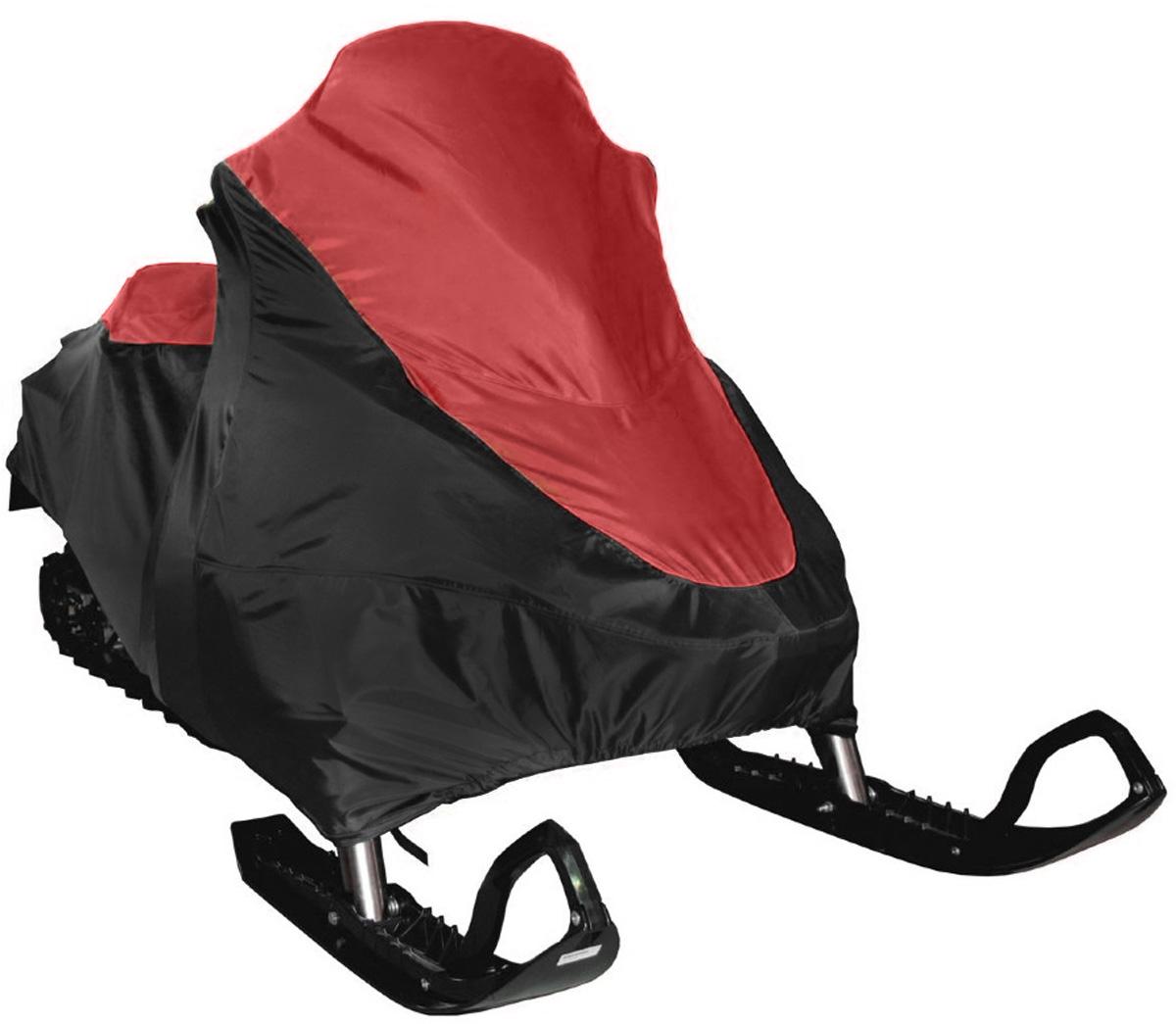 Чехол транспортировочный AG-brand, для снегохода Ski-Doo SKANDIC SWT 600, цвет: черный, красныйKGB GX-5RSЧехол для транспортировки AG-brand предназначен для снегохода Ski-Doo SKANDIC SWT 600. Изделие выполнено из прочной влагоотталкивающей ткани плотностью 600 Den, с применением армированных ниток. По нижней кромке чехла вшита плотная резинка, обеспечивающая надежную фиксацию на снегоходе.В комплект транспортировочного чехла входит прочная текстильная стропа для крепления техники в прицепе или специальном боксе для перевозки.