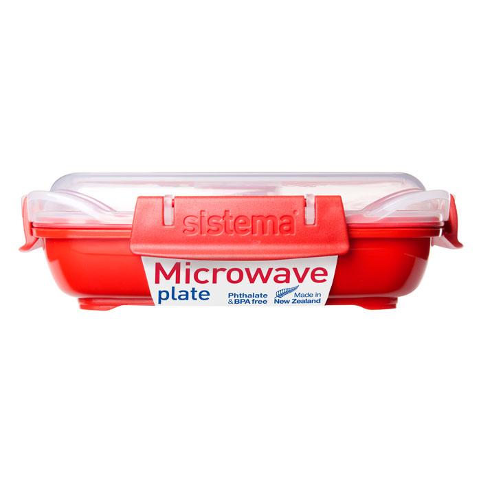 Контейнер низкий Sistema Microwave, 440 млI9322-TXВ контейнере Microwave вы с легкостью сможете не только разогреть пищу в СВЧ, но и приготовить ее. Нет ничего более полезного, чем приготовление на пару в контейнерах Sistema. Просто налейте воды в базовый контейнер, поместите пищу на специальную решетку, откройте на крышке клапан пароотвода и поместите все в микроволновую печь. Через несколько минут вы можете насладиться полезной пищей. Крышка с силиконовой прокладкой герметично закрывается, что помогает дольше сохранить полезные свойства продуктов. Контейнер оснащен фиксирующимися зажимами – клипсами, которые при необходимости можно заменить. Можно мыть в посудомоечной машине.