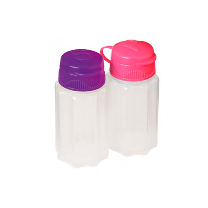 Набор солонка и перечница Sistema TO-GO 35мл (2шт)3965_малиновыйКонтейнер To Go создан для людей ведущих активный образ жизни. Контейнеры удобны для хранения и транспортировки соли и переца. Можно мыть в посудомоечной машине.