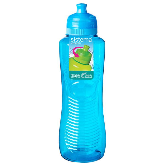 Бутылка для воды Sistema HYDRATE 800мл21460000Многоразовая бутылка вместимостью 800 мл пригодится в спортзале, на прогулке, дома, на даче. Герметично закрывается. Именно благодаря простоте и комфорту в использовании, качественным материалам и стильному дизайну, бутылочка для воды с поилкой так популярна. Можно мыть в посудомоечной машине.