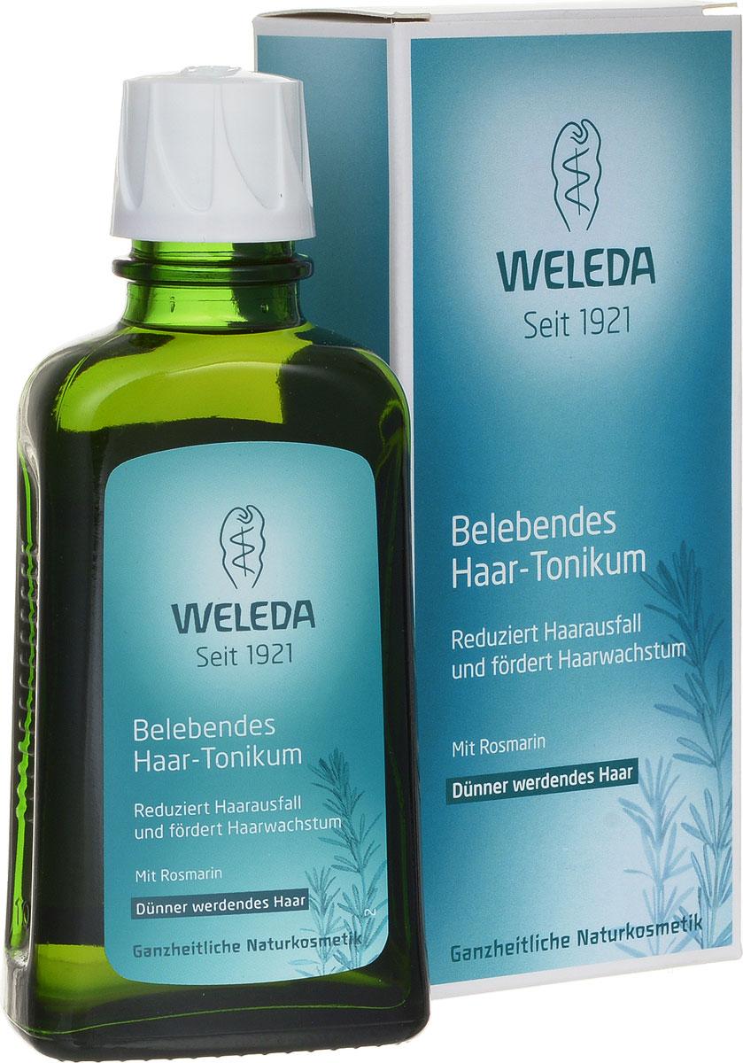 Weleda Средство для роста волос, укрепляющее, с розмарином, 100 млFS-00897Укрепляющее средство Weleda для роста волос с розмарином уменьшает выпадение волос и стимулирует рост.Средство Weleda с маслом розмарина и ценными экстрактами очитка и листьев хрена улучшает питание корней волос, уменьшает выпадение и стимулирует естественный рост волос, укрепляет волосы и поддерживает здоровье кожи головы.Свежий аромат розмарина придает продукту особенную нотку. Подходит для восстановления волос после родов и кормления грудью.Не содержит ингредиентов на основе минеральных масел, а так же синтетических ароматизаторов, красителей и консервантов. Не содержит силикона. Протестировано дерматологами.Товар сертифицирован.