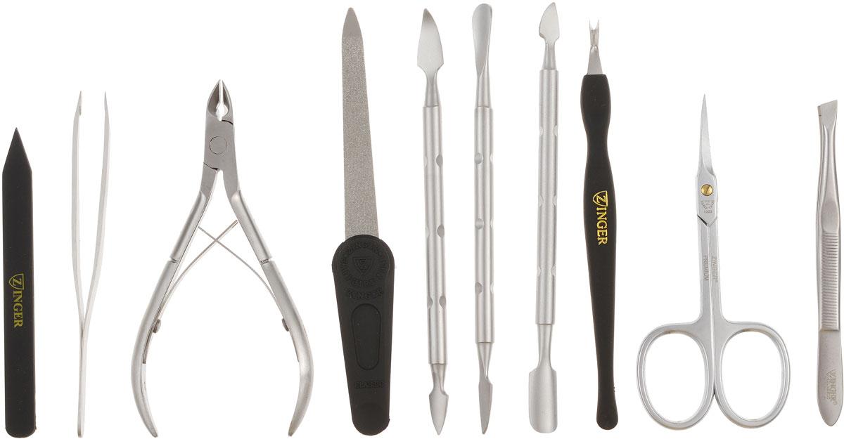 Zinger Маникюрный набор профессиональный (9 предметов) zMSFE 1001-SM