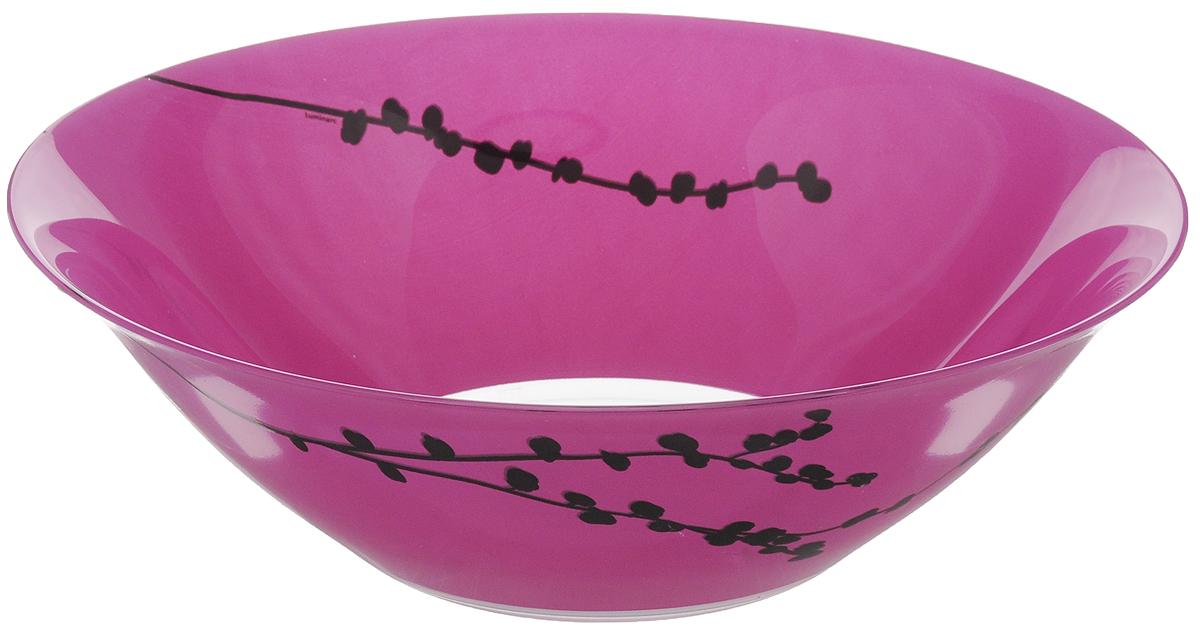 Салатник Luminarc Kashima, диаметр 27 см54 009312Салатник Luminarc Kashima выполнен из ударопрочного стекла. Яркий дизайн придется по вкусу и ценителям классики, и тем, кто предпочитает изысканность. Салатник Luminarc Kashima идеально подойдет для сервировки стола и станет отличным подарком к любому празднику.Можно мыть в посудомоечной машине и использовать в микроволновой печи. Диаметр (по верхнему краю): 27 см.Высота стенки: 8,5 см.