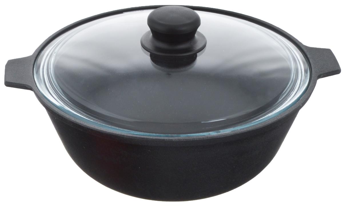 Котел чугунный Добрыня, с крышкой, 3 л. DO-33310003929Котел Добрыня изготовлен из натурального, экологически безопасного чугуна. Чугун является одним из лучших материалов для производства посуды. Он очень практичный, не выделяет токсичных веществ, обладает высокой теплоемкостью и способен служить долгие годы. Чугунная посуда очень прочная и обладает превосходными природными антипригарными свойствами. Она не боится механических повреждений, царапин или высоких температур, однако тяжелее обычных и не очень любит длительный контакт с водой.Чугунная посуда была популярна сотни лет и до сих пор остается такой. Свое качество и уникальные свойства она подтверждает в деле. Котел подходит для всех типов плит, включая индукционные, а также для приготовления пищи на костре. Рекомендуется мыть вручную. В комплект входит стеклянная крышка.Высота стенки: 10,5см. Объем котла: 3 л. Диаметр котла (по верхнему краю): 24 см.