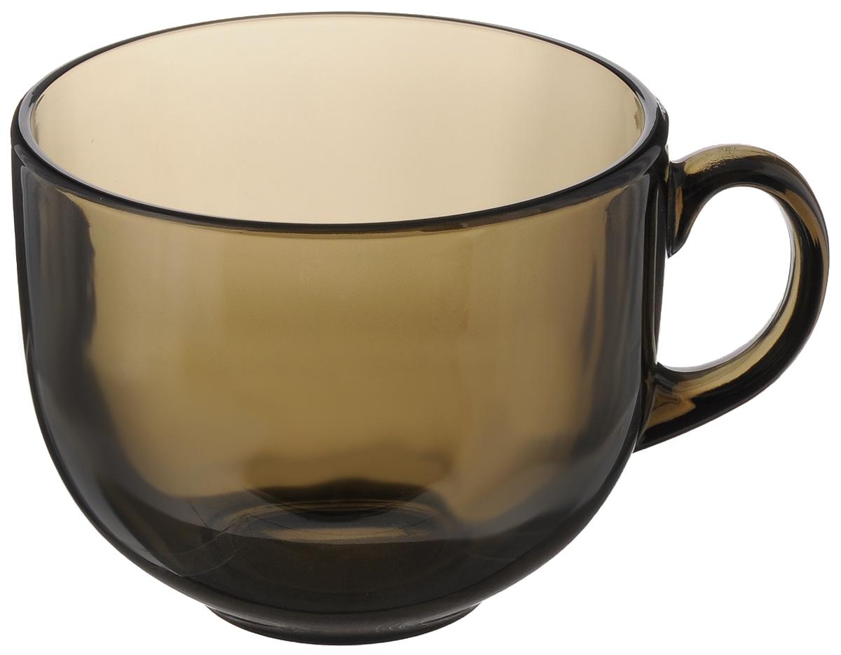 Кружка Luminarc Джамбо, 500 мл115510Кружка Luminarc Джамбо изготовлена из ударопрочного стекла. Такая кружка прекрасно подойдет для горячих и холодных напитков. Она дополнит коллекцию вашей кухонной посуды и будет служить долгие годы.Можно мыть в посудомоечной машине и использовать в микроволновой печи.Диаметр кружки (по верхнему краю): 10,5 см.Высота кружки: 9 см.