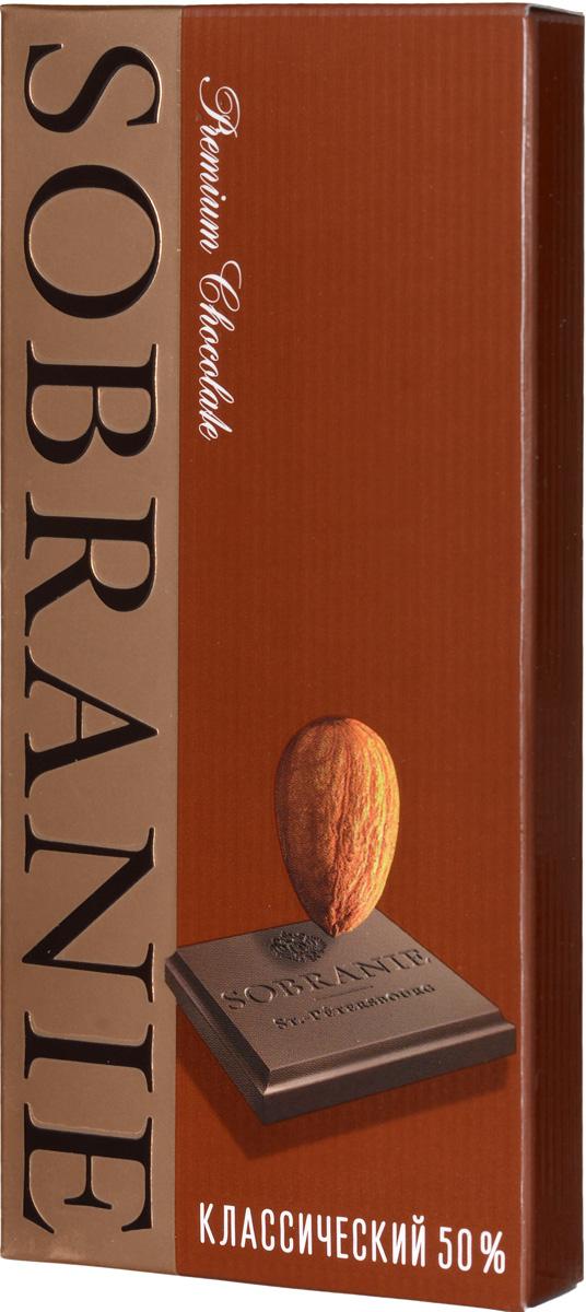 Sobranie темный шоколад с орехами, 45 г