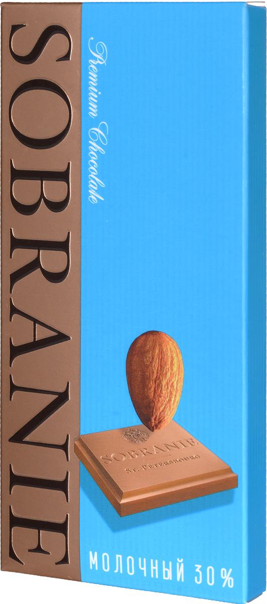 Sobranie молочный шоколад с орехами, 45 г0120710Sobranie — особый шоколад, в котором соединяются верность российским кондитерским традициям, бескомпромиссность качества и изысканность вкуса. Созданный по бережно хранимому рецепту прошлоговека, шоколад Sobranie изготавливается исключительно из отборных какао-бобов с Берега Слоновой Кости.