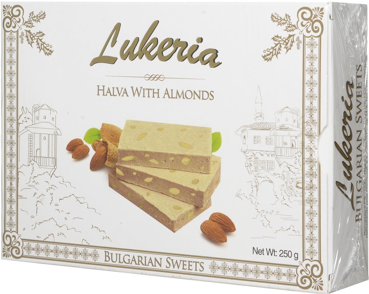 Lukeria Халва тахинная с миндалем, 250 гR80553История восточных сладостей насчитывает многие тысячелетия. Благодаря гурманам Ближнего и Среднего Востока во всем мире стали известны халва, нуга, пахлава и конечно, знаменитый рахат-лукум - уже сами эти названия содержат привкус восточных сказок. Отличало их также то, что восточные сладости можно было хранить в теплом климате, и они не теряли своей свежести и не портились. Экзотические лакомства далекого Востока в течение долгого времени были неизвестны европейцам. В Европе они появились примерно в XVII - XVIII веках, их подавали в самых богатых домах как изысканные деликатесы. Вскоре восточные сладости стали признаком тонкого вкуса.