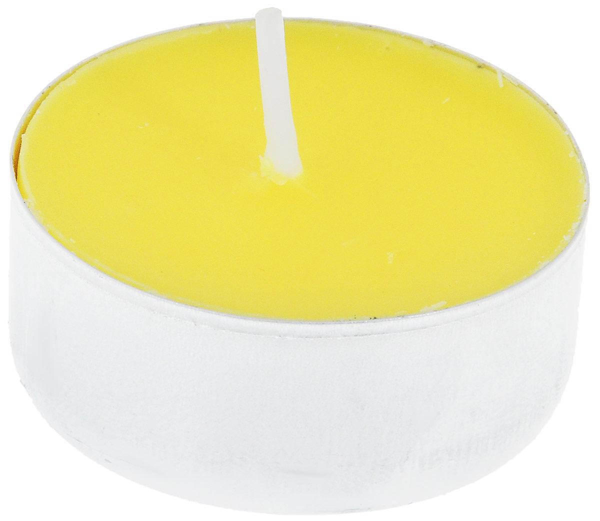 Набор свечей Duni, цвет: желтый, диаметр 3,8 см, 30 штJV0305Набор Duni состоит из 30 круглых чайных свечей без запаха, изготовленных из смеси парафина и стеарина. Duni - создатели атмосферы вдохновения, сюрпризов и праздников для вас и ваших детей! Используя современные инновации, высококачественные материалы, оригинальный дизайн, свечи делают вашу трапезу незабываемым и волшебным праздником. Такой набор украсит интерьер вашего дома или офиса и наполнит его атмосферу теплом и уютом.Диаметр свечи: 3,8 см. Высота свечи: 1,5 см.